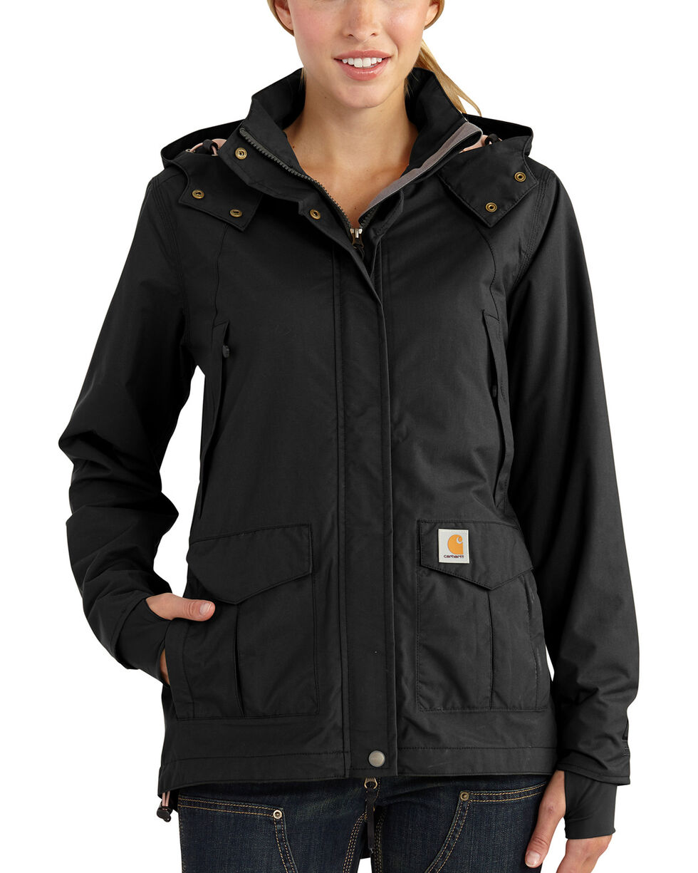 Carhartt Women's Shoreline Jacket, Black, hi-res