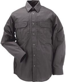5.11 Tactical Taclite Pro Long Sleeve Shirt - 3XL, Charcoal Grey, hi-res