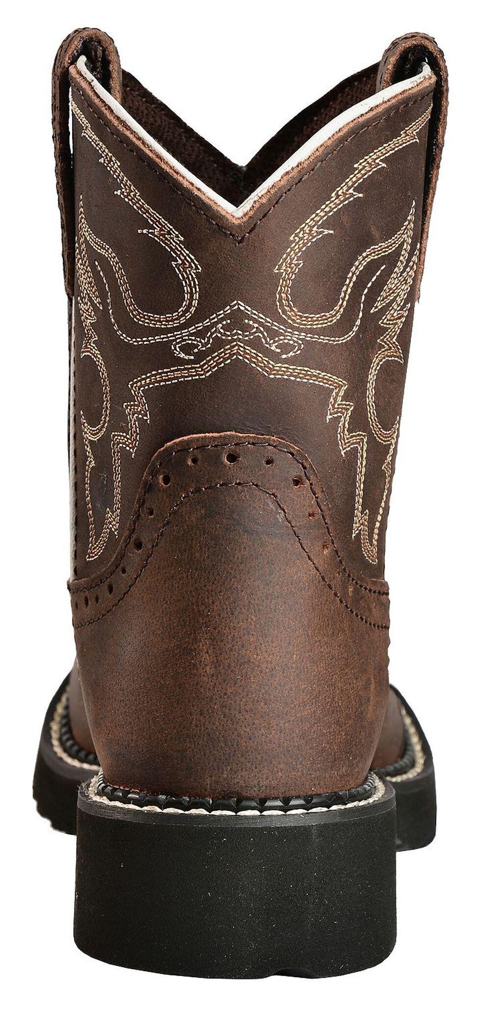 Justin Youth Girls' Aged Bark Gypsy Cowboy Boots, Aged Bark, hi-res