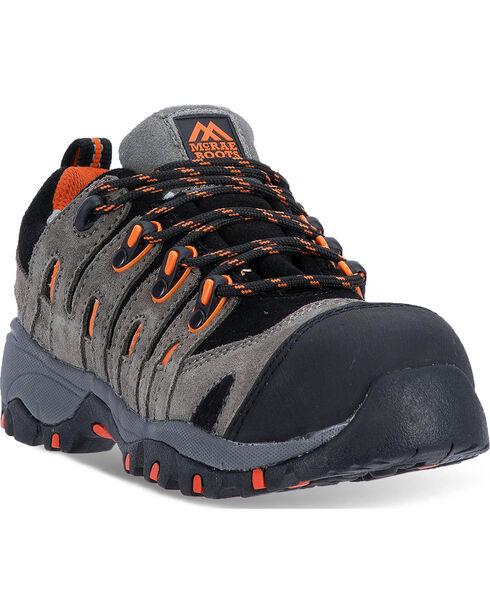 McRae Men's Grey Industrial Athletic Boots - Composite Toe, Grey, hi-res