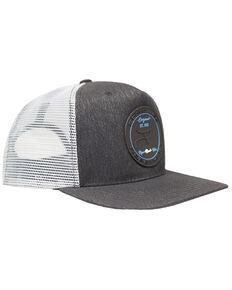 6382506bd RopeSmart Black Rubber Patch Ball Cap , Black, hi-res