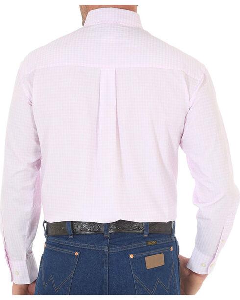 Wrangler Men's Tough Enough To Wear Pink Long Sleeve Shirt - Tall, Pink, hi-res