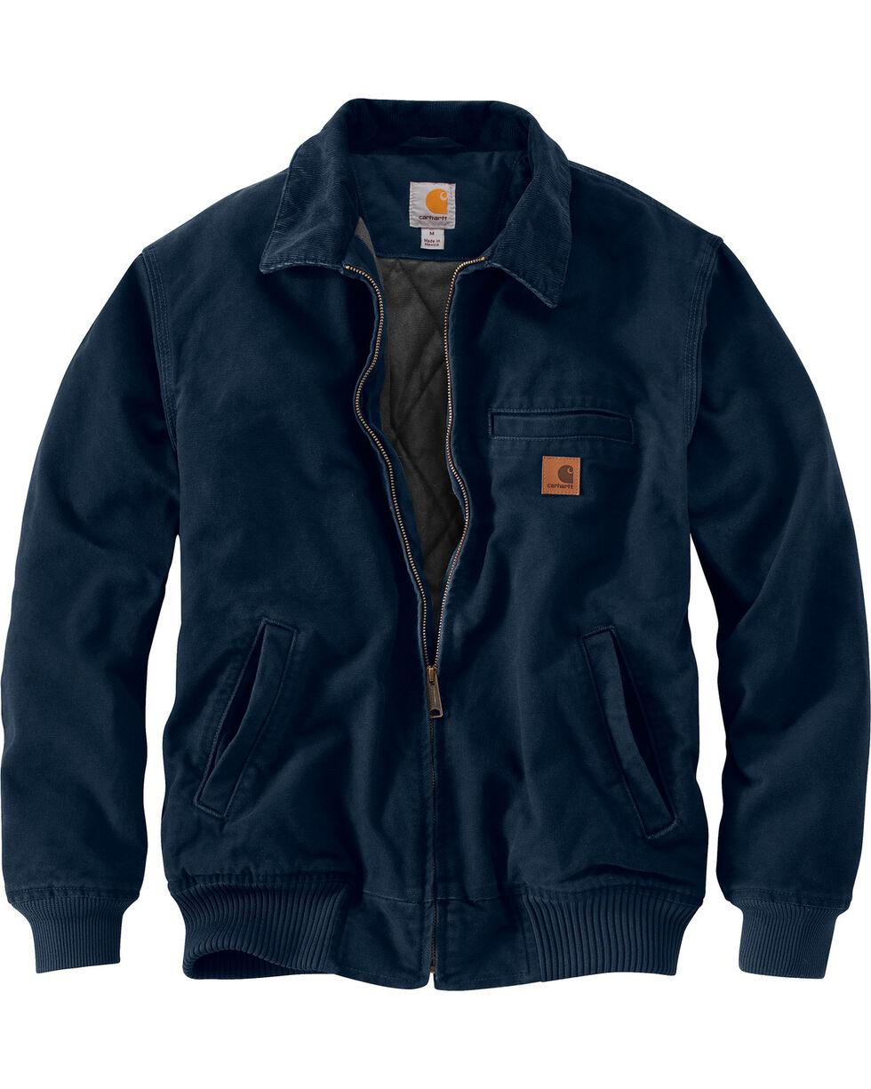 Carhartt Men's Navy Bankston Jacket - Big & Tall, Navy, hi-res