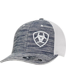 7a3aa835b51c2 Ariat Mens Logo Embroidered Ball Cap