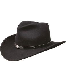 62af766da Black Creek Men s Crushable Wool Felt Hat