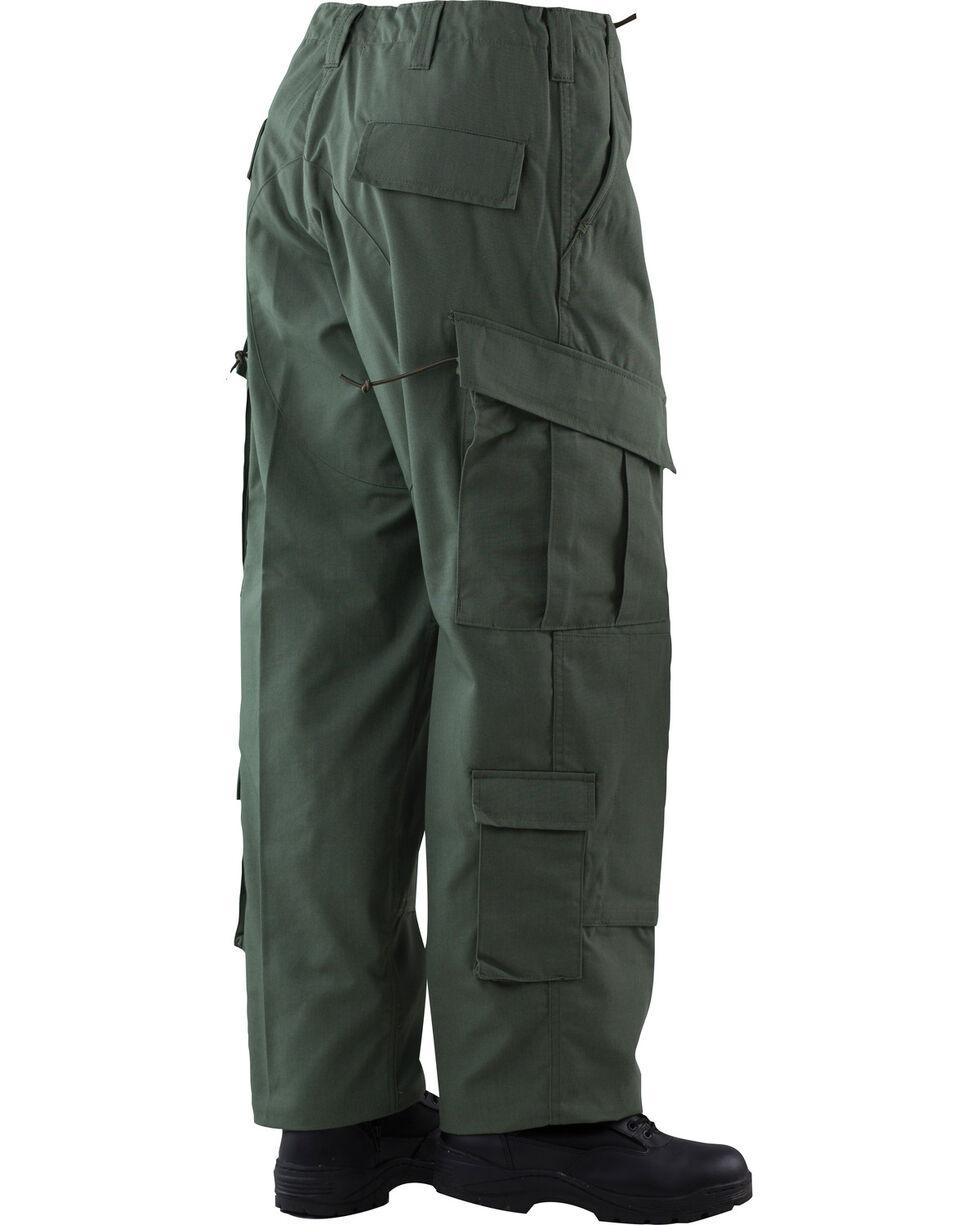Tru-Spec Tactical Response Camo RipStop Uniform Pants, Olive, hi-res