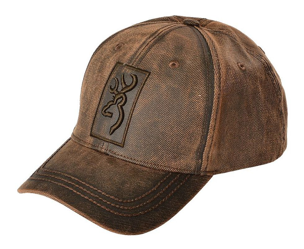 Sheplers Exclusive - Browning Logo Oilskin Cap  ced15f0fa8b