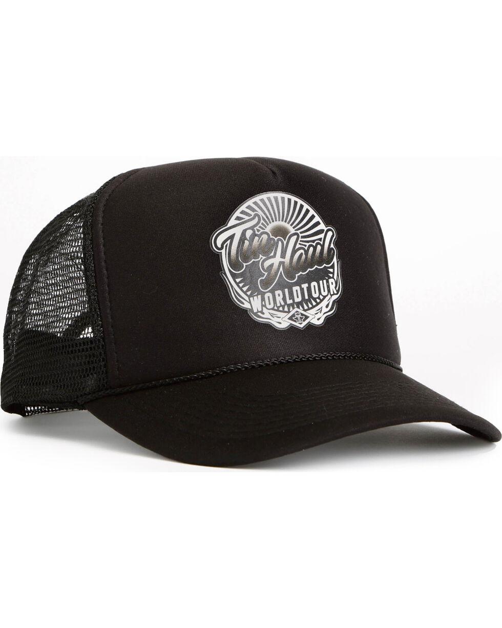 Tin Haul Men's Black World Tour Baseball Cap , Black, hi-res