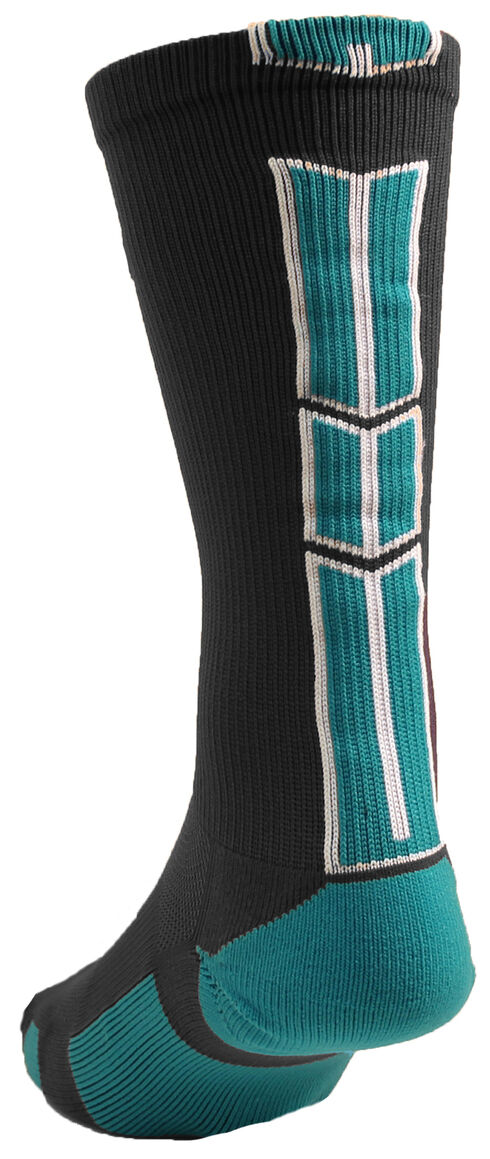 Cinch Men's Grey Crew Sock , Grey, hi-res