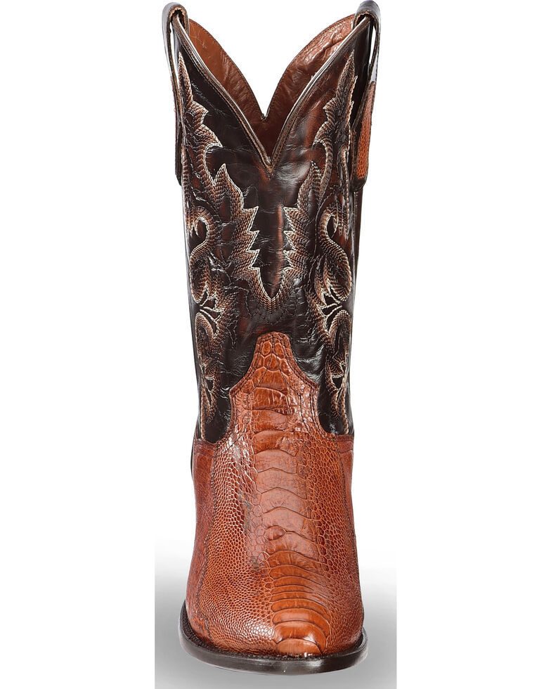 5951f14f2c7 Dan Post Men's Ostrich Leg Cowboy Boots - Medium Toe