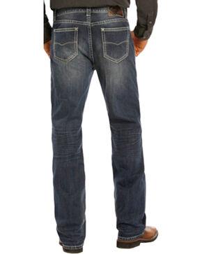 Rock & Roll Cowboy Men's Double Barrel Jeans - Straight Leg , Indigo, hi-res