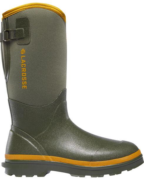 LaCrosse Men's Alpha Range Air Circ Boots - Round Toe, Hunter Green, hi-res