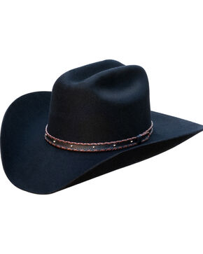 Silverado Men's Flynn Western Hat , Black, hi-res