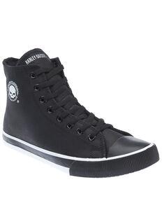 Harley Davidson Men's Baxter Moto Shoes, Black, hi-res