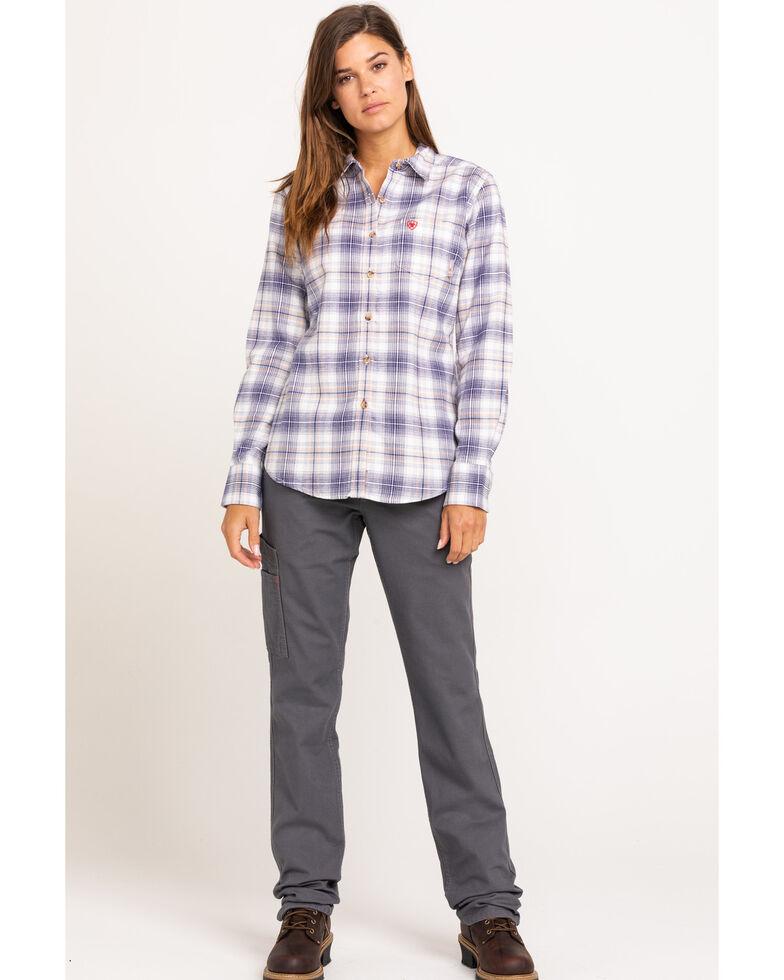 Ariat Women's Foraker Long Sleeve FR Work Shirt, Multi, hi-res