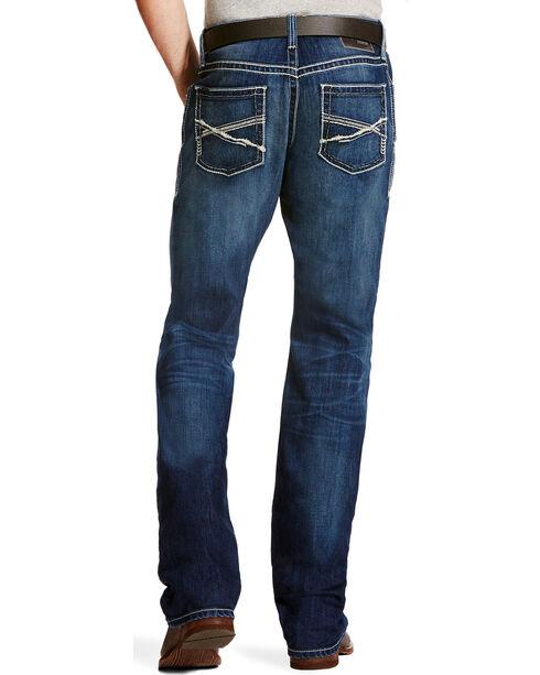 Ariat Men's M4 Freeze Point Porter Low Rise Jeans - Boot Cut, Indigo, hi-res