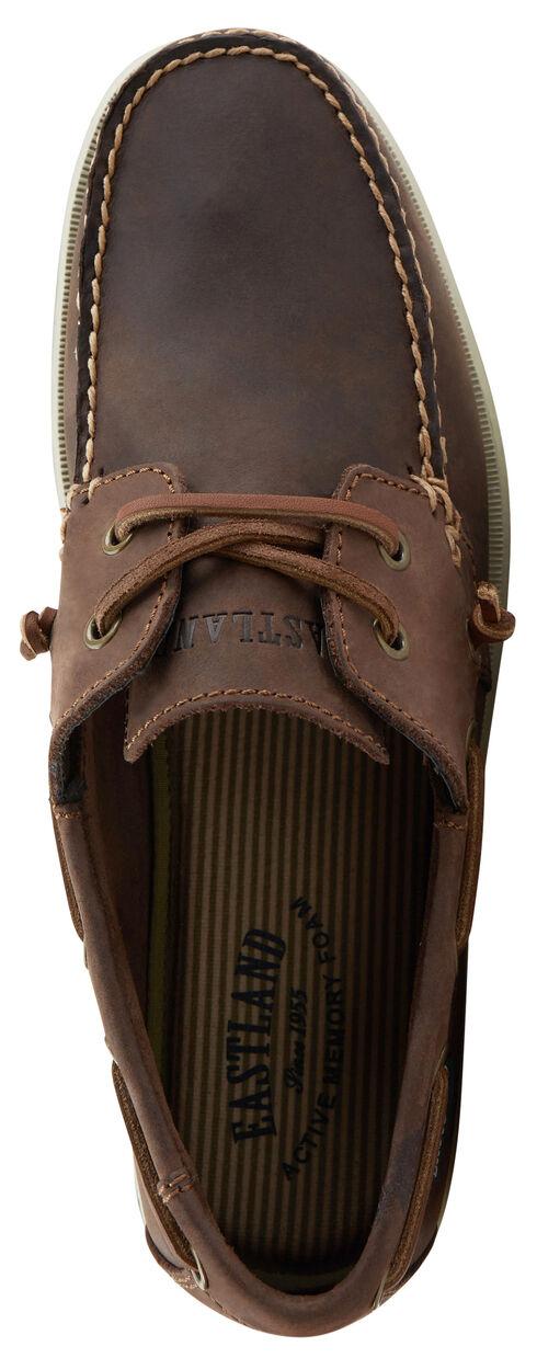 Eastland Men's Freeport Boat Slip-On Shoes, Brown, hi-res