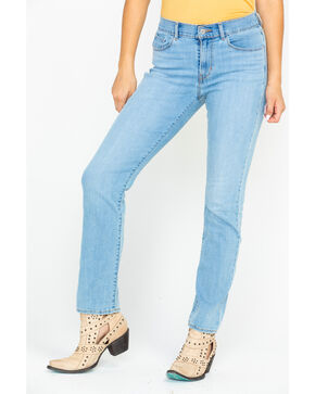 Levis Women's 4 Way Stretch Sidetracked Light Skinny Jeans , Blue, hi-res