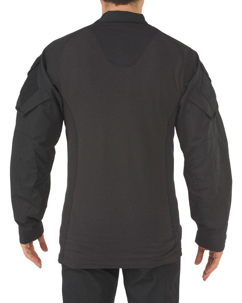 5.11 Tactical Rapid Assault Long Sleeve Shirt, Black, hi-res