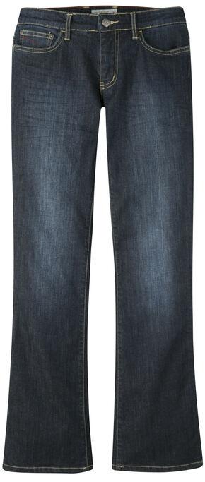 Mountain Khakis Women's Genevieve Bootcut Jeans - Petite, Indigo, hi-res