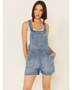 Wrangler Women's Bib Overalls, Blue, hi-res