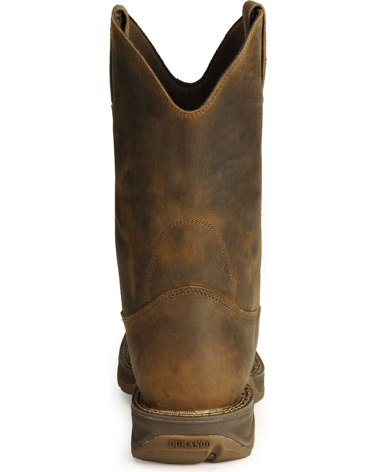 Pull-On Western Boots - Square Toe