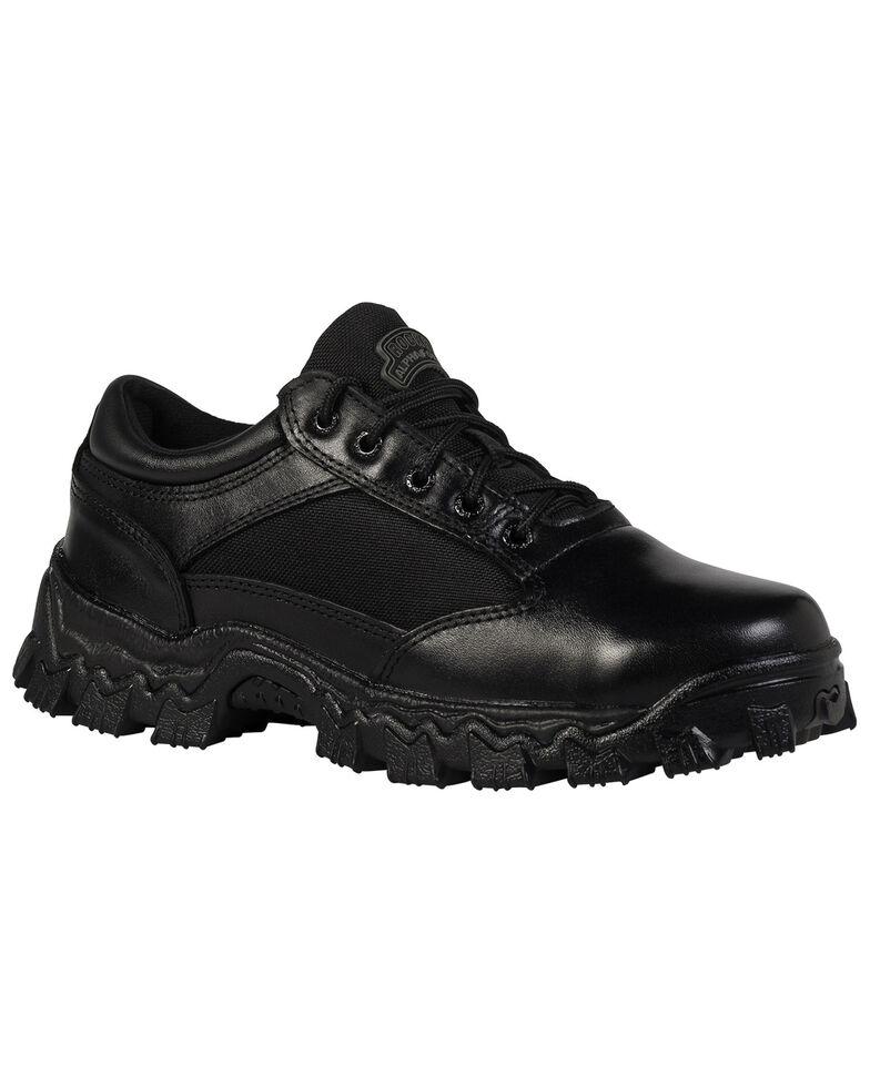 Rocky Men's AlphaForce Oxford Shoes, Black, hi-res