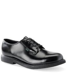Corcoran Men's USA Postal Oxford Shoes, Black, hi-res
