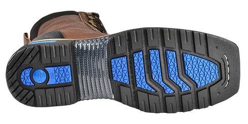 Cinch® WRX Men's Waterproof Steel Toe Lace-Up Work Boots, Brown, hi-res