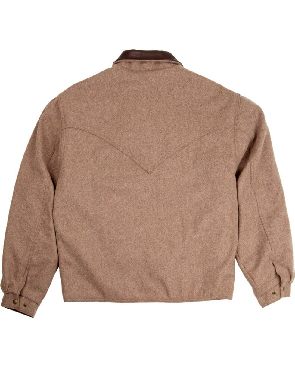 Schaefer Outfitter Men's Taupe Melton Wool Summit Jacket , Taupe, hi-res