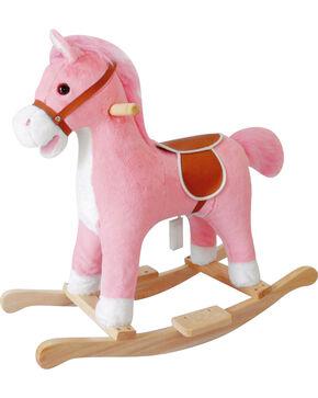 Charm Girls' Lil Pink Rocking Horse , Pink, hi-res