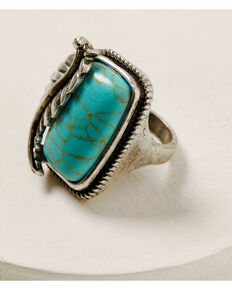 Idyllwind Women's On The Trails Ring, Silver, hi-res