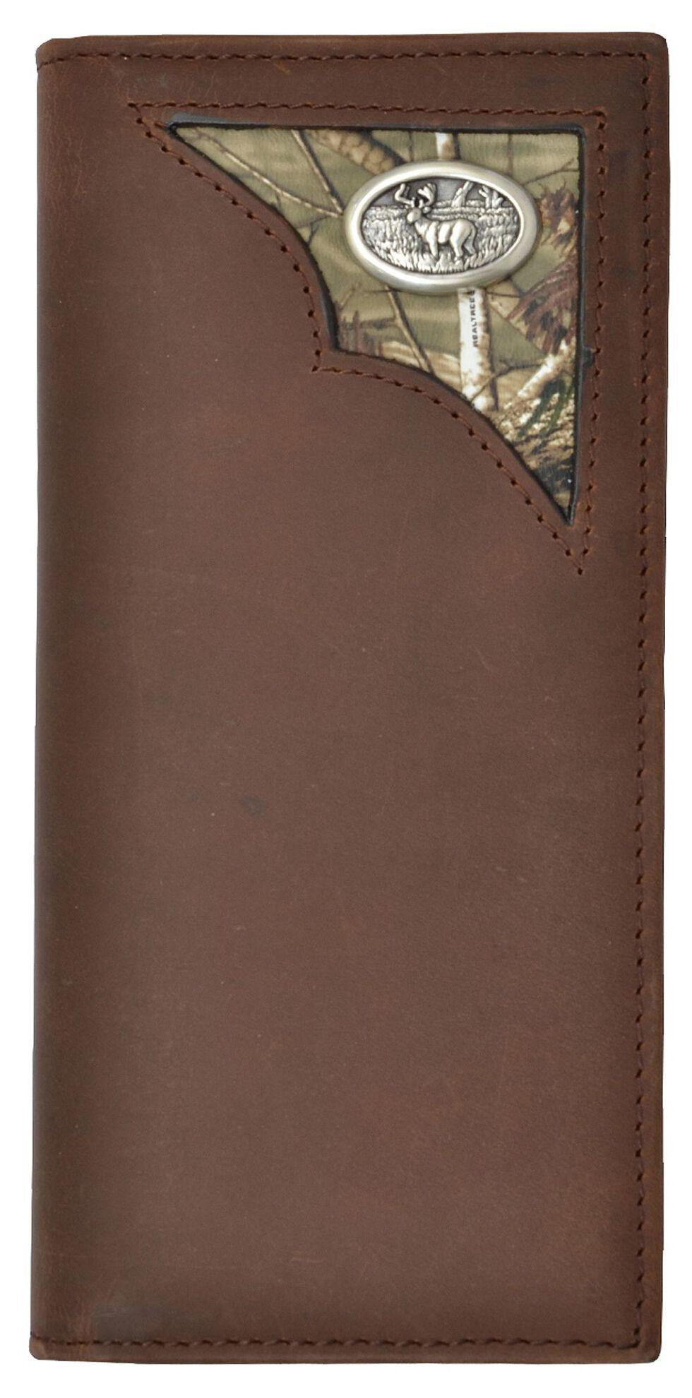 3D Men's Buck Camo Inlay Wallet, Multi, hi-res