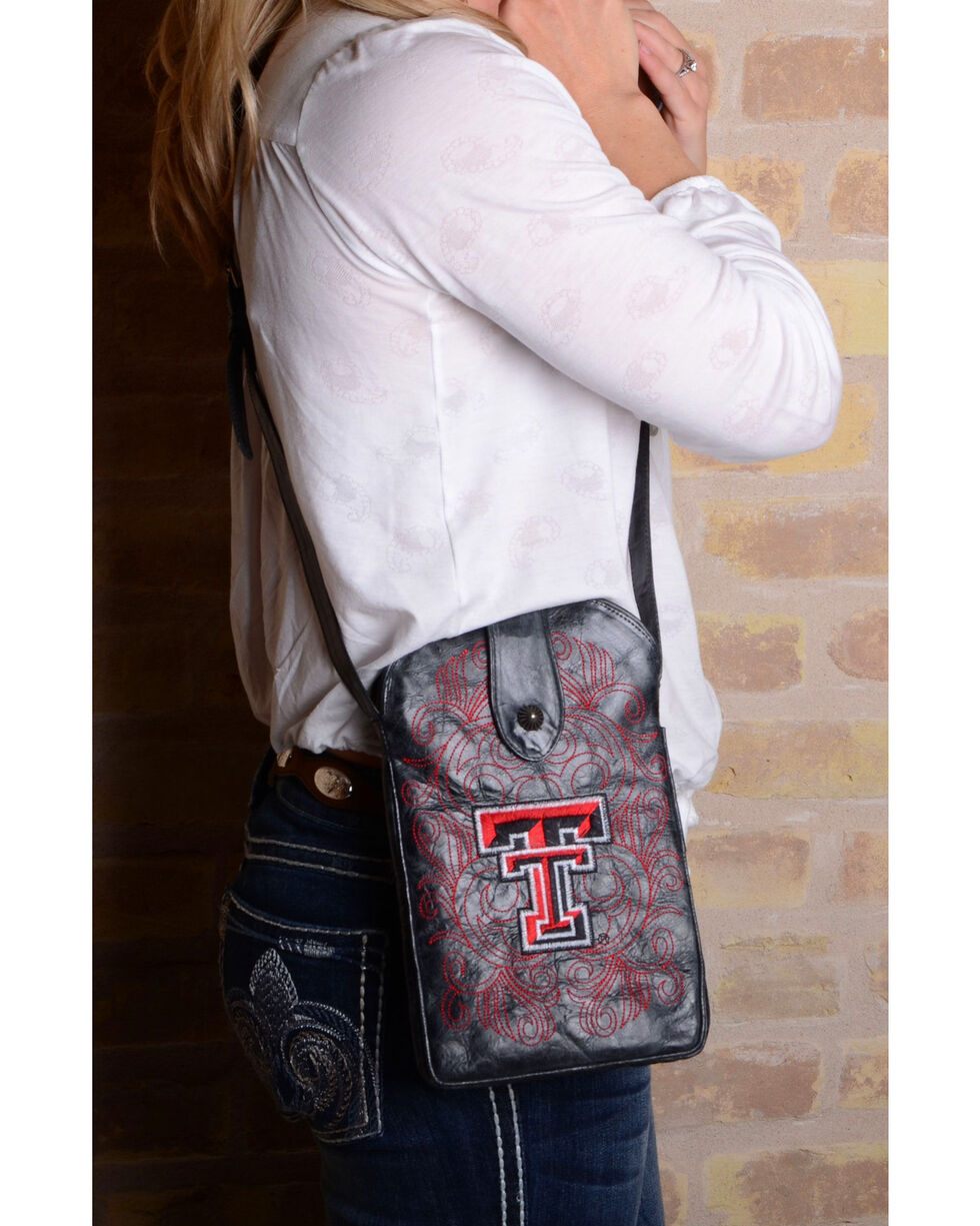 Gameday Boots Texas Tech University Crossbody Bag, , hi-res