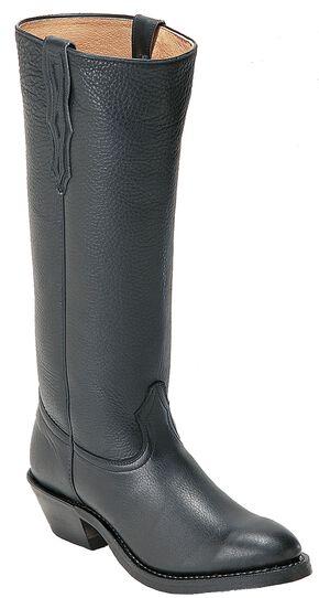 Boulet Shooter Cowboy Boots - Round Toe, Black, hi-res