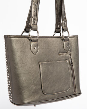 Shyanne Women's Cross Concealed Carry Tote , Dark Grey, hi-res