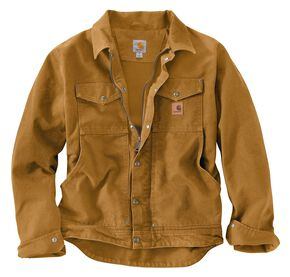 Carhartt Berwick Sandstone Work Jacket, Brown, hi-res