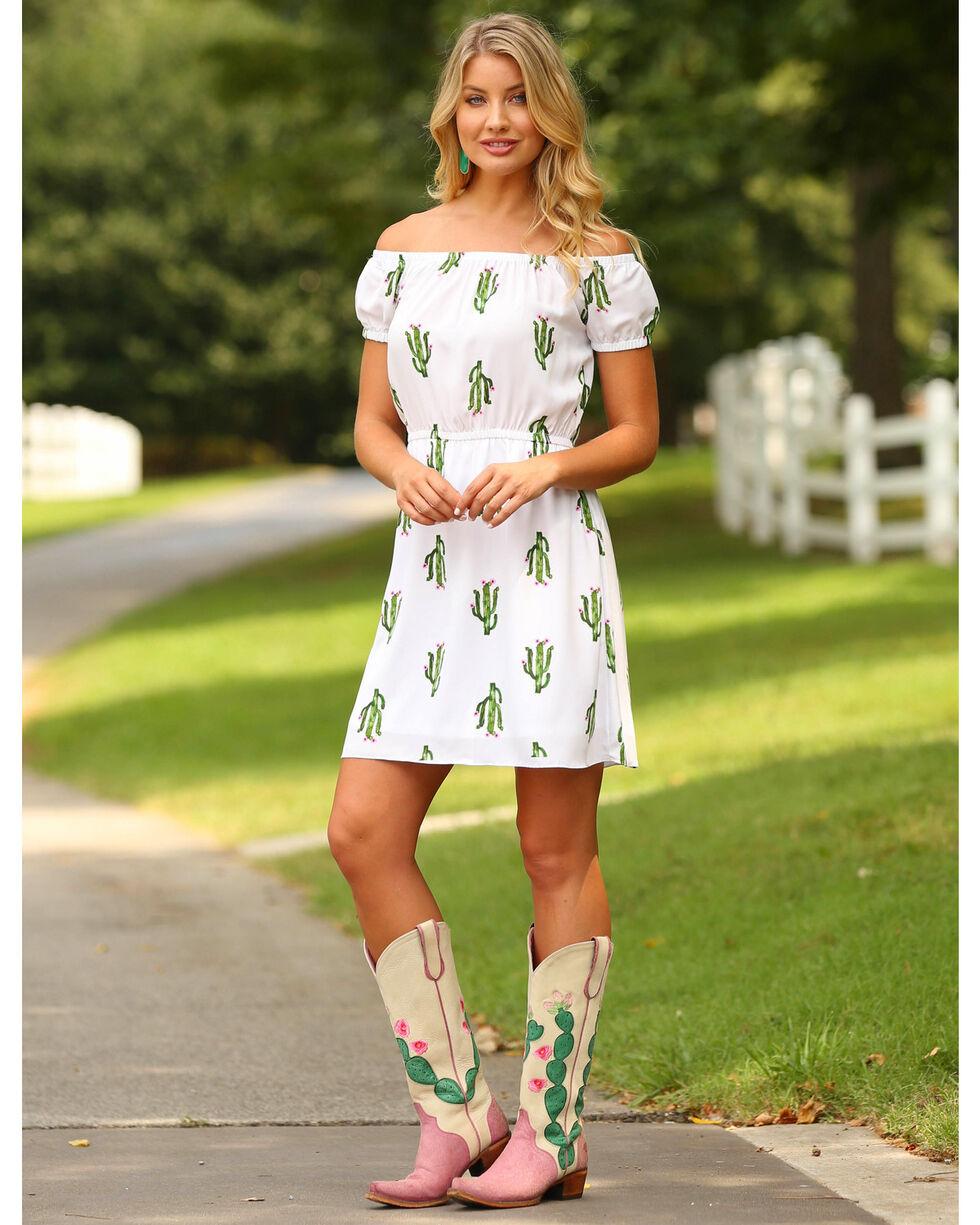 Wrangler Women's Cactus Print Fashion Dress , Multi, hi-res