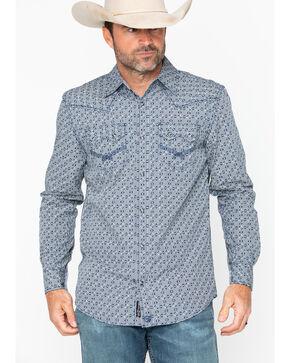 Moonshine Spirit Men's Melrose Long Sleeve Shirt, Blue, hi-res