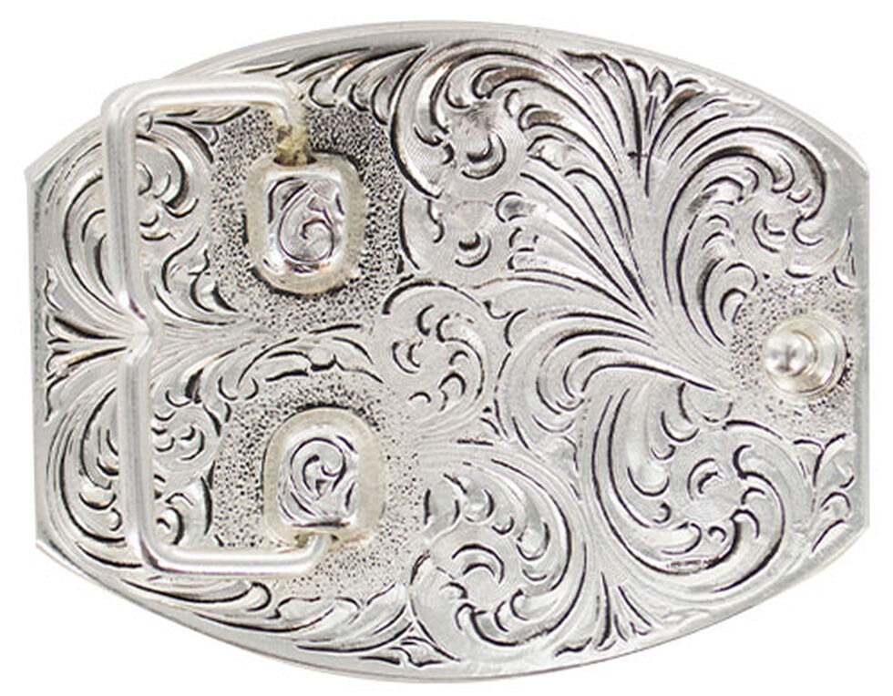 Cody James Men's Right To Bear Arms Buckle, Silver, hi-res