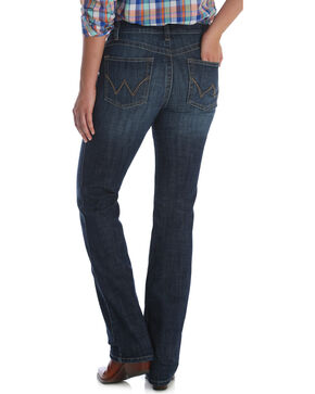 Wrangler Women's Dark Wash Ultimate Riding Q-Baby Jeans, Indigo, hi-res