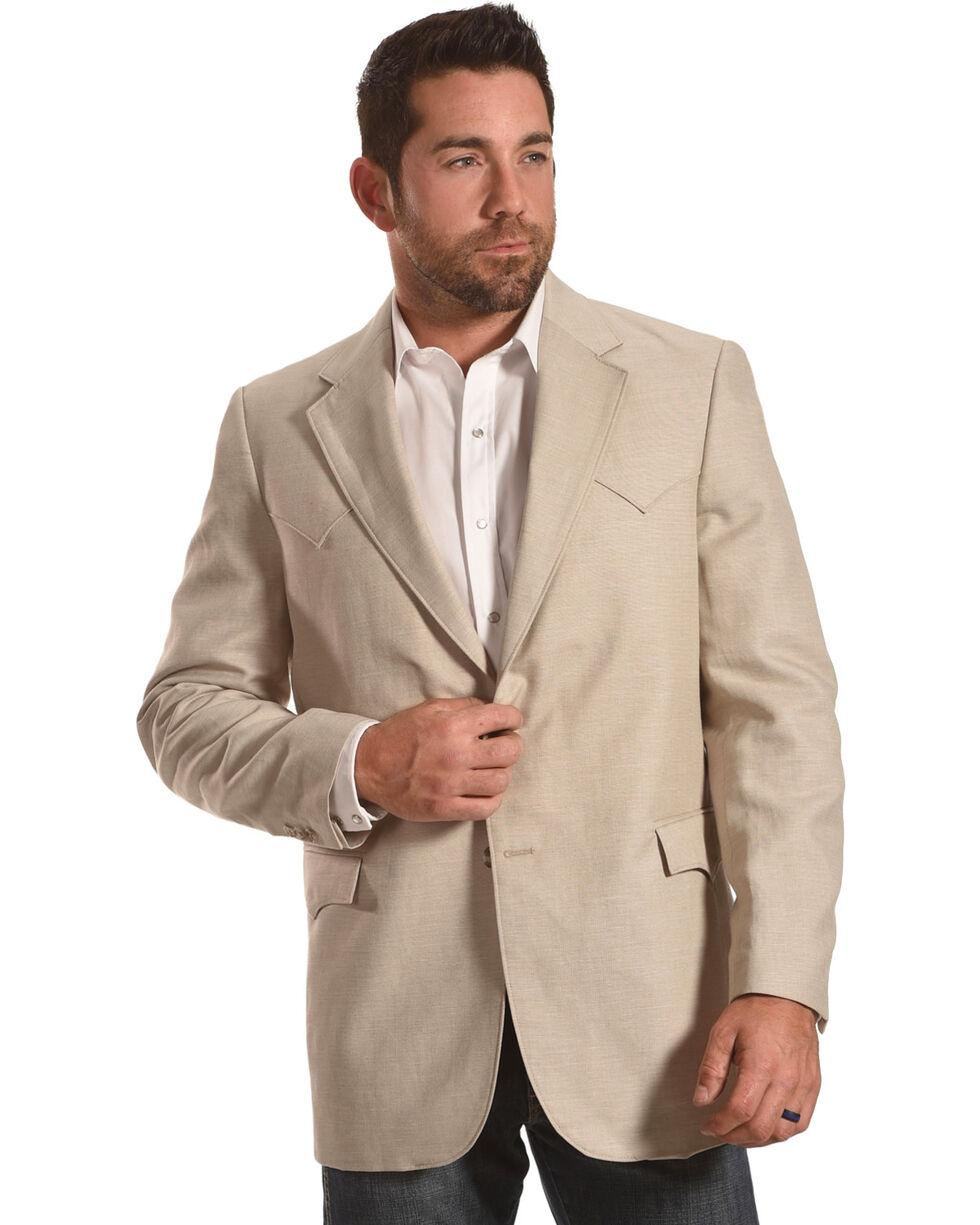 Circle S Men's Fort Worth Wheat Sport Coat - Reg & Long, Lt Brown, hi-res