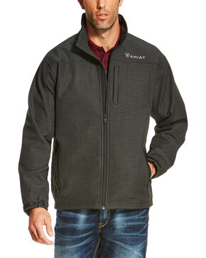 Ariat Men's Grey Vernon Softshell Jacket , Black, hi-res