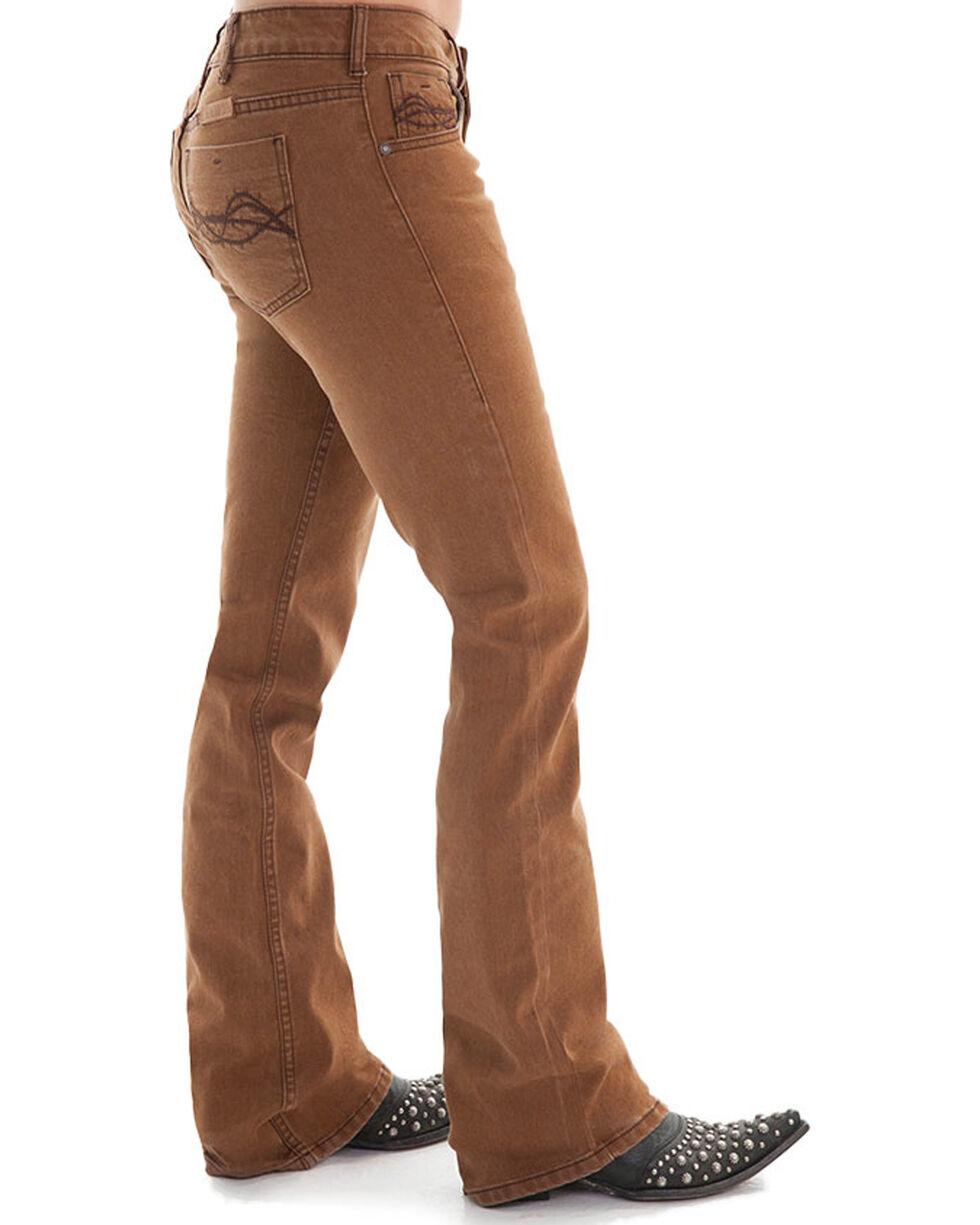 Cowgirl Tuff Women's Copper Bonanza Jeans, Rust Copper, hi-res