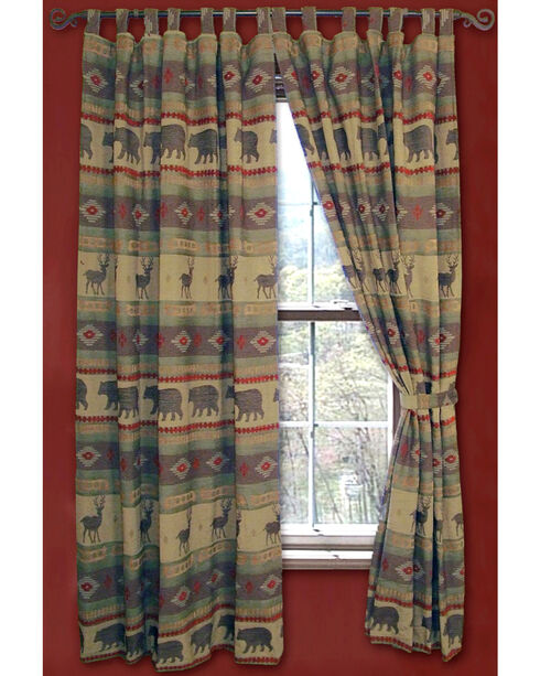 Carstens Heartland Drapes, Green, hi-res