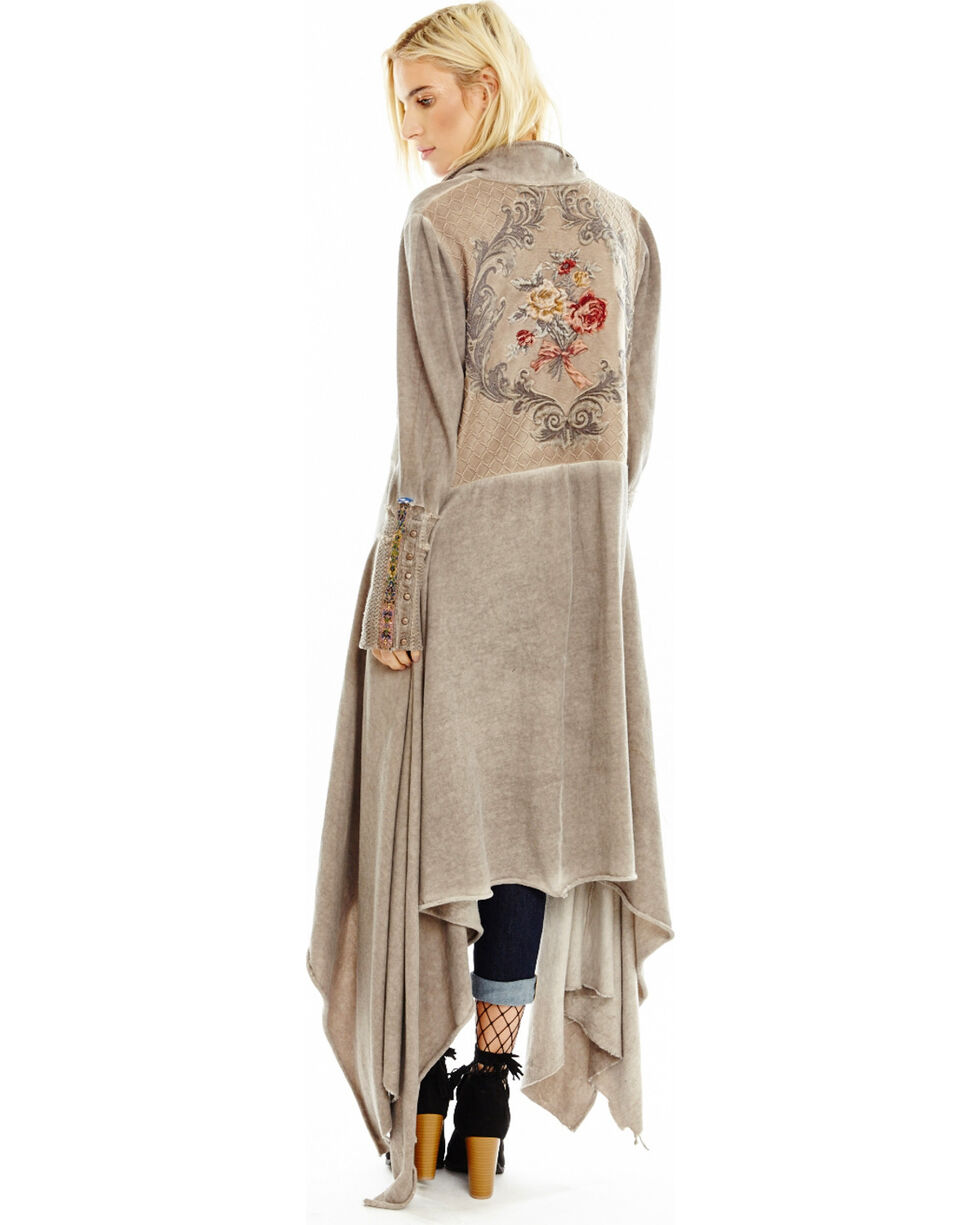 Aratta Women's Taupe Naomei Campbell Coat , Taupe, hi-res