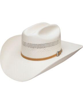 Stetson Men's Arapaho 10X Straw Vented Cowboy Hat, Natural, hi-res