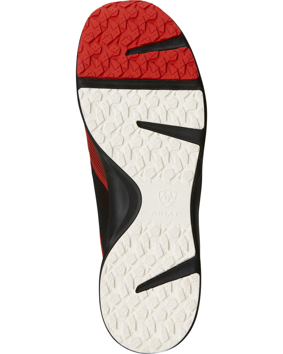 Ariat Men's Fuse Rodeo Red Mesh Shoes, , hi-res