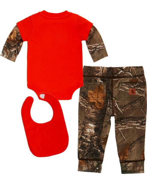 Carhartt Infant Boys' Camo Wild One 3 Piece Set , Camouflage, hi-res
