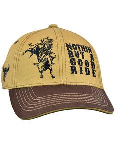 Cowboy Hardware Boys' Camel & Brown Good Time Embroidered Ball Cap , Tan, hi-res